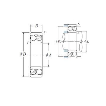 2204-2RS-TVH Kushineta drejt cilindrimit